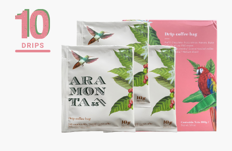 Aramonta Coffee Drips (45 Coffee Drip Bags)