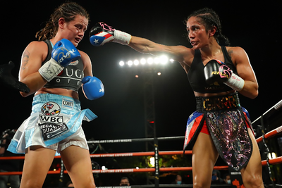 "Amanda ""The Real Deal"" Serrano Scores Another KO Win"