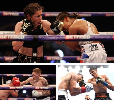 Lightweight Champion Katie Taylor Victorious in an Action-packed Weekend