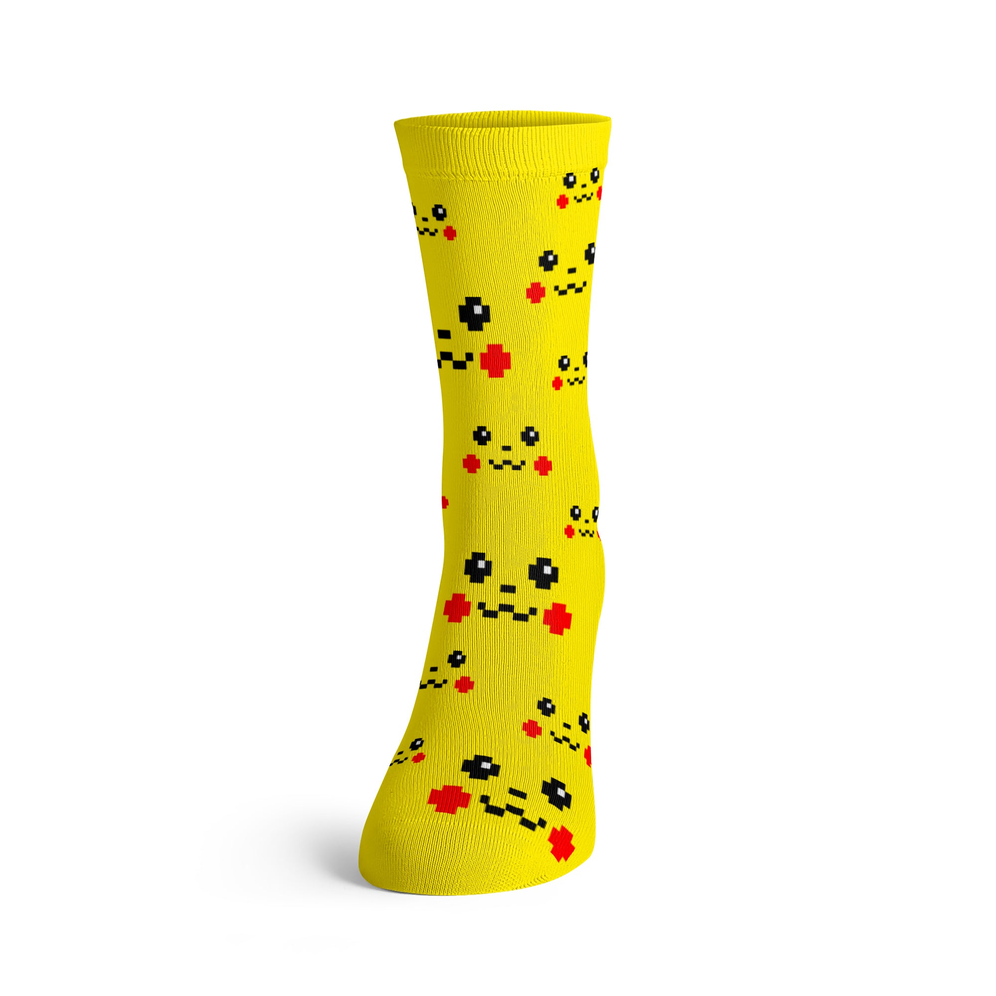 Pixel Socks Little Yellow Rodent