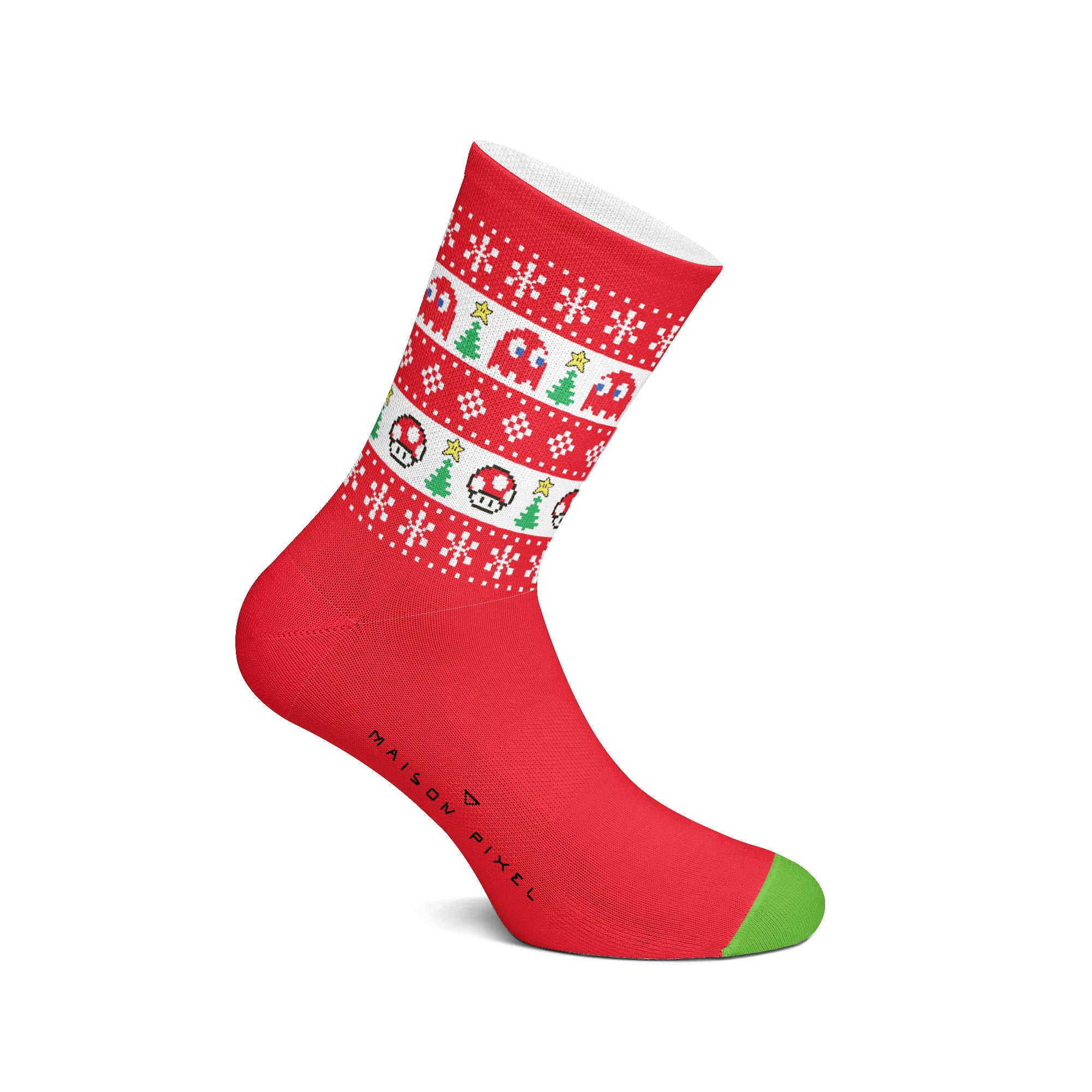 Pixel Socks Xmas time is here