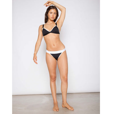 Pixel Darth Bather Black Bikini Bottom