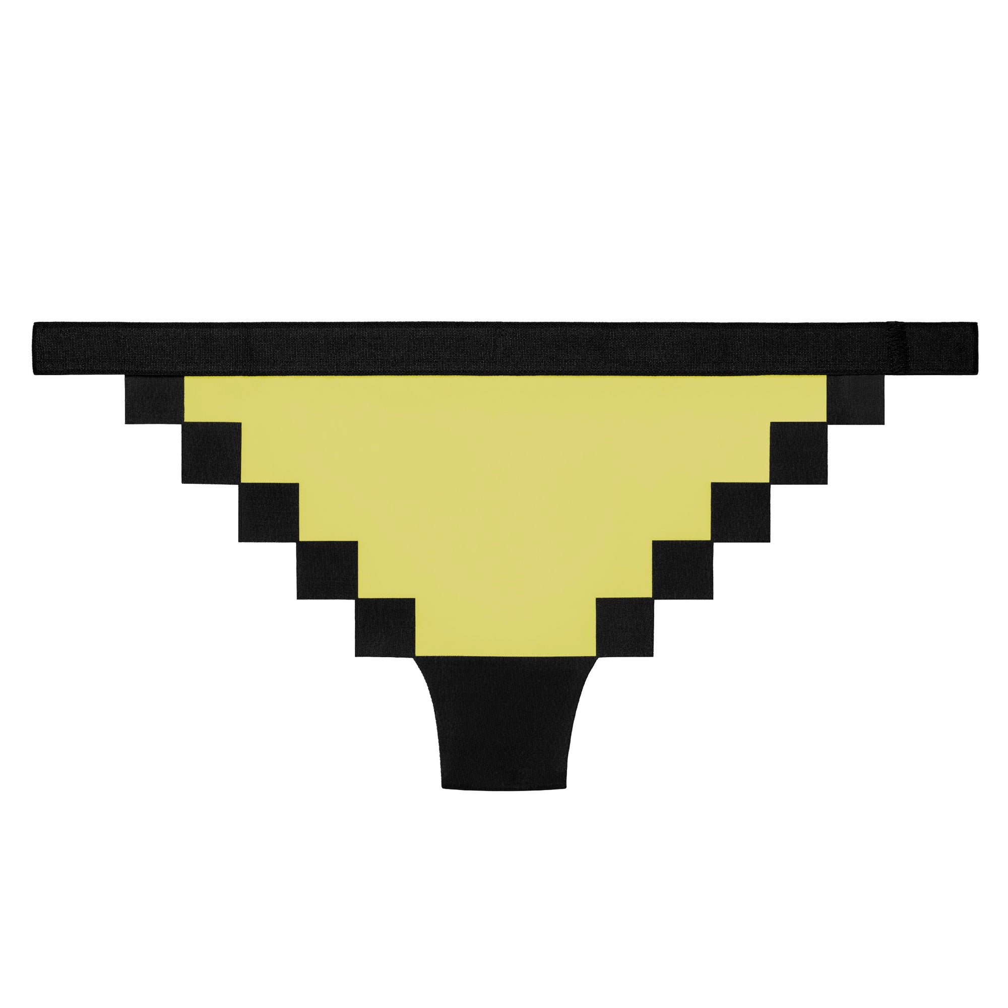 Pixel Panties Ms Pac Hypnotic Yellow