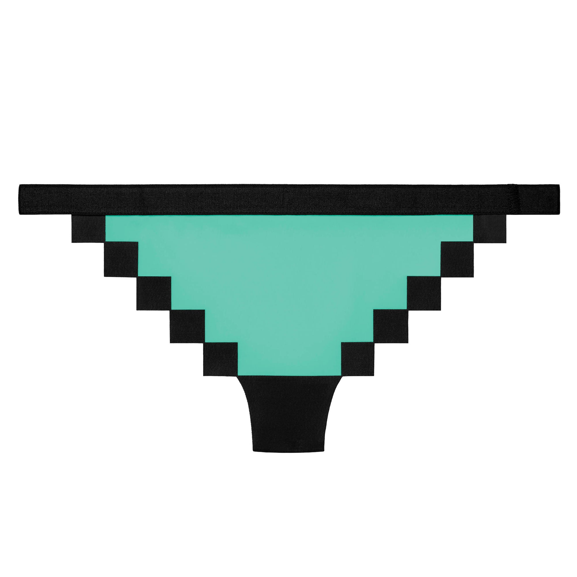 Pixel Panties Zx spectrum Teal