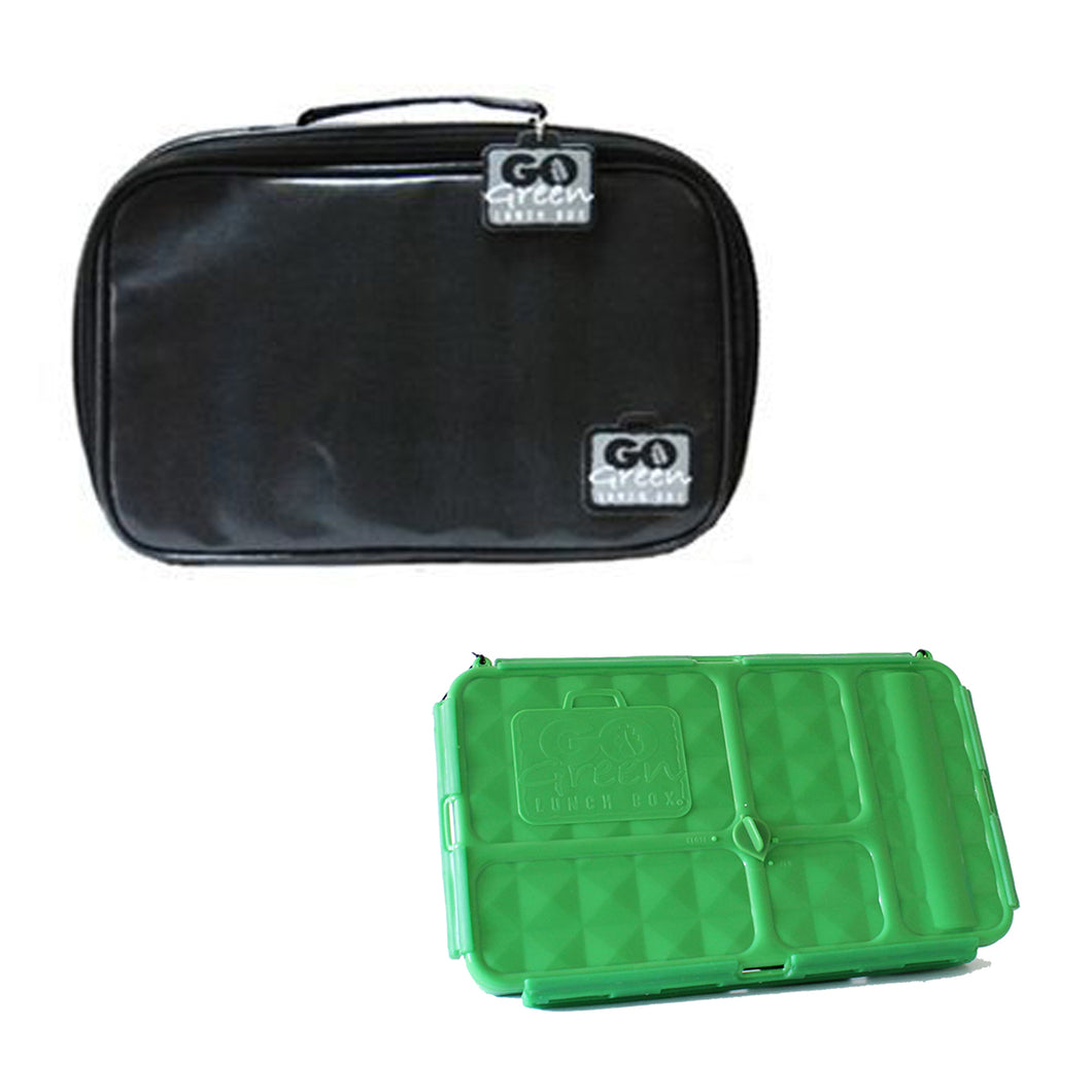 Go Green Lunch Box Set - Black Stallion