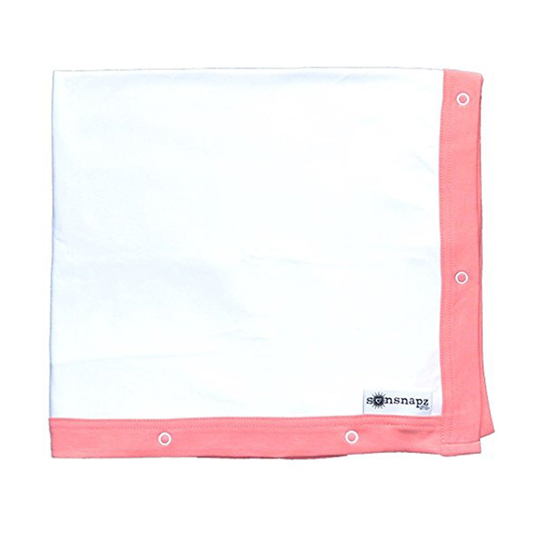 Sunsnapz - Sun Protection Baby Blanket - Coral