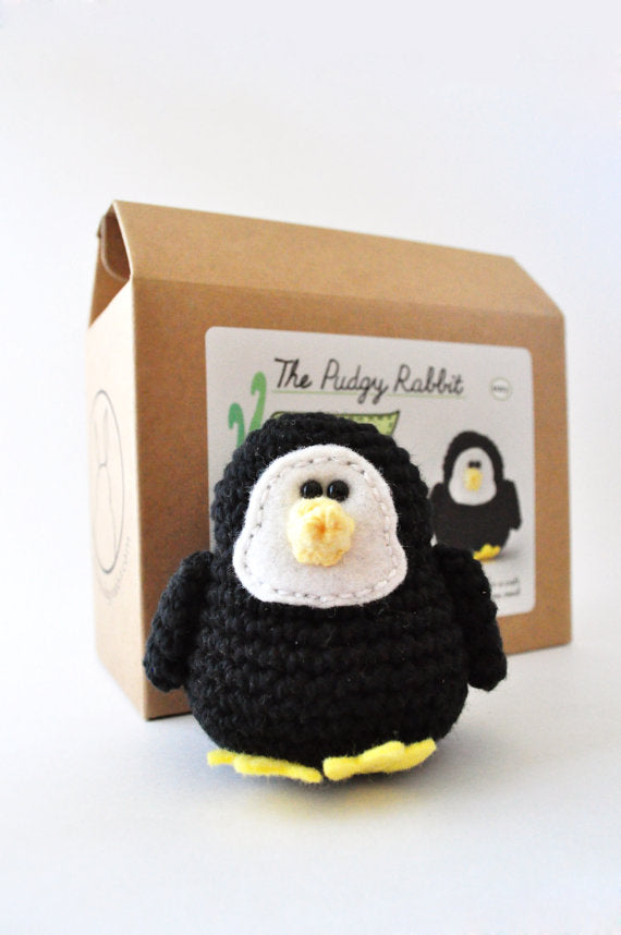 DIY Beginner Crochet Kit - Penguin