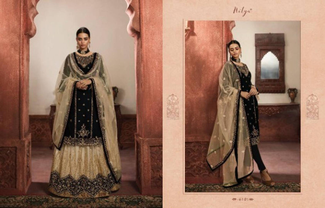 Latest Pakistani Attractive Faux Georgette Dress Material With Dupatta