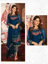 Load image into Gallery viewer, Latest Pakistani Attractive Georgette Dress Material With Dupatta