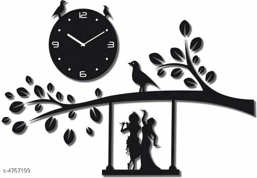 Attractive Acrylic Wall Clock