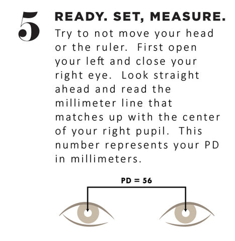 photo relating to Printable Pupillary Distance Ruler named GlyPeople PD (Pupillary Length) Ruler