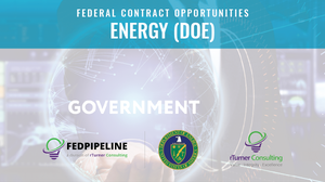 Federal Contract Opportunity Report - Energy (DOE)