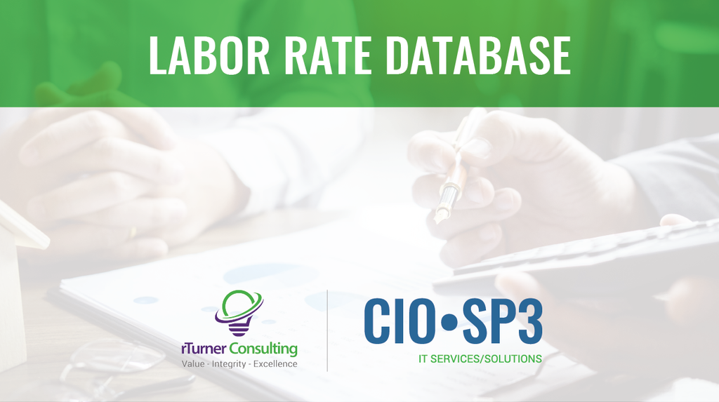 CIO-SP3 Labor Rate Analysis