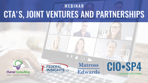 CIO-SP4 Webinar - CTA's, Joint Ventures and Partnerships (recording)