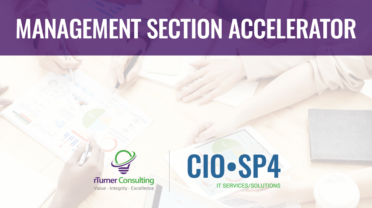 CIO-SP4 Management Section Accelerator