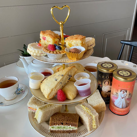 The Crown Themed Tea Party Afternoon Tea High Tea Queen of Hearts Tea House Kitchener