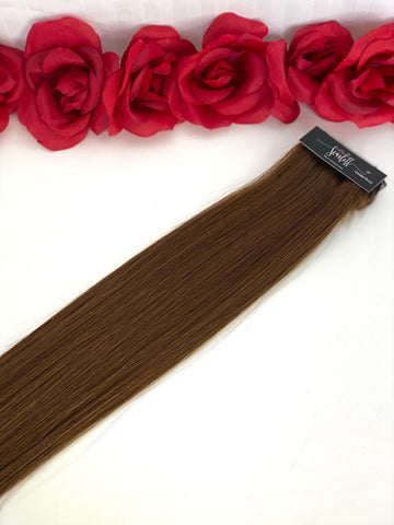 Chestnut Brown Hand Tied Weft - Scarlett Hair Extensions