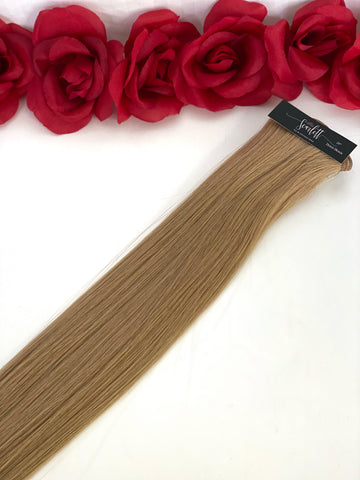 Honey Blonde Hand Tied Weft - Scarlett Hair Extensions