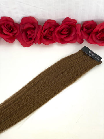 Light Brown Hand Tied Weft - Scarlett Hair Extensions