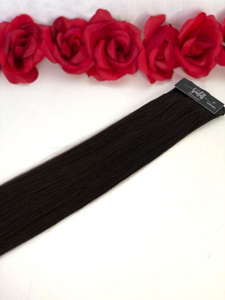 Natural Black Hand Tied Weft - Scarlett Hair Extensions
