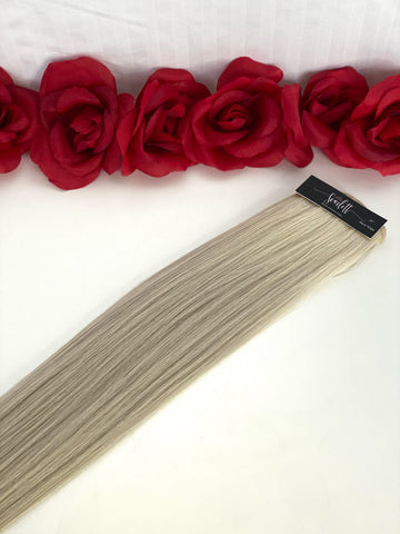 Snow White Hand Tied Weft - Scarlett Hair Extensions