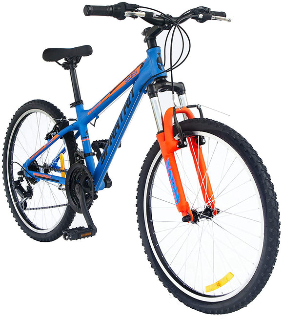 Spartan Galaxy MTB Mountain Bicycle - 24 inches Blue