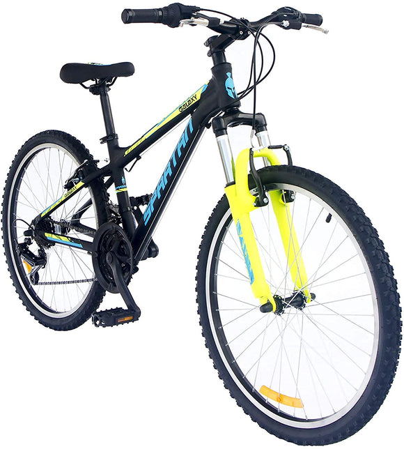 SPARTAN Galaxy  MTB  Bicycle - SP-3033 24 inches Black