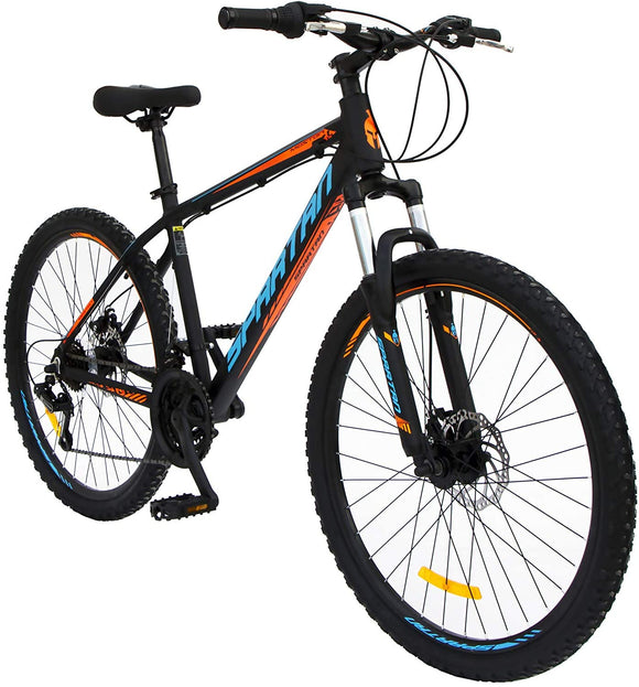 Spartan Master Mountain Bicycle - MTB  26 inches Black