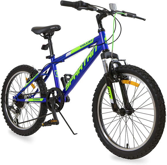 Spartan Vulcan MTB Bicycle - 20 inches speed 20 Blue