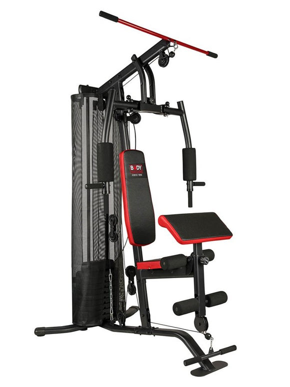 Body Sculpture Multi-Gym with Removable Preacher Curl Bench