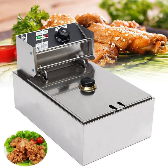 Electric 6L 2500W Deep Fryer with Frying Basket