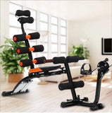 Full-Body Workout Machine with Inbuilt Pedal Cycle