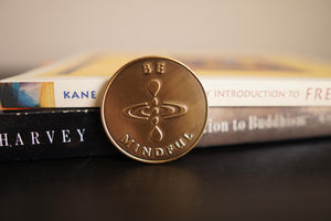"""Be Mindful"" Mindfulness Reminder Coin"