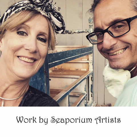 Photo of Seaporium owners and artists