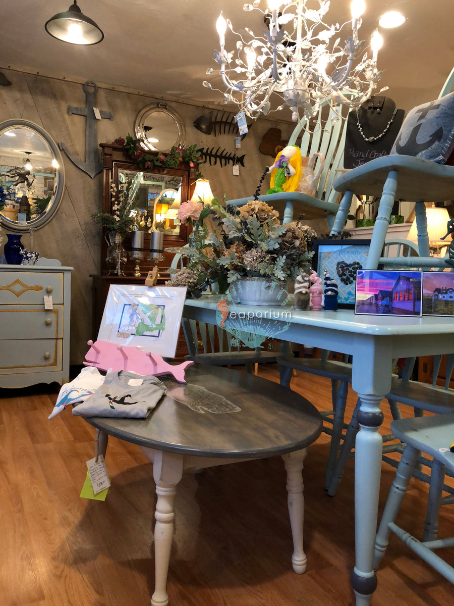 Variety of items available at Seaporium, Cape Cod MA