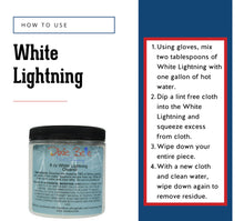 Load image into Gallery viewer, White Lightning 8 oz by Dixie Belle