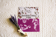 Load image into Gallery viewer, Floral Silk Screen Stencil by Belles and Whistles (Dixie Belle Paint Company)