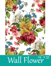 Load image into Gallery viewer, Wall Flower Transfer by Iron Orchid Designs
