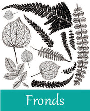 Load image into Gallery viewer, Fronds Stamp by Iron Orchid Designs