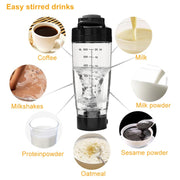 600ML Electric Blender Shaker