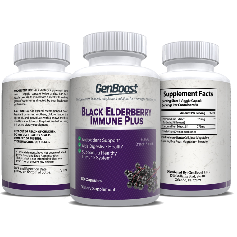 Black Elderberry Immune Plus