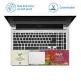 FineArts Full Panel Laptop Skins Upto 15.6 inch for Dell-Lenovo-Acer-HP - LR Brain