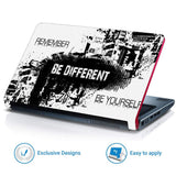 FineArts Full Panel Laptop Skins Upto 15.6 inch for Dell-Lenovo-Acer-HP - Be Different