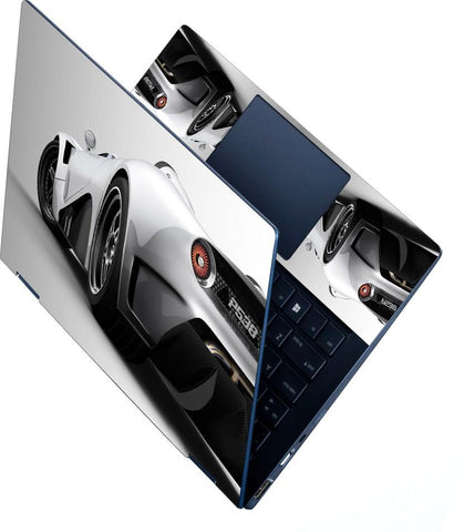 FineArts Full Panel Laptop Skins Upto 15.6 inch for Dell-Lenovo-Acer-HP - Car P538