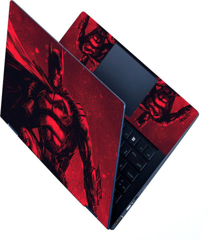 FineArts Full Panel Laptop Skins Upto 15.6 inch for Dell-Lenovo-Acer-HP - Red Bat