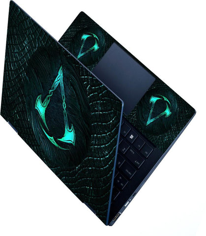 FineArts Full Panel Laptop Skins Upto 15.6 inch for Dell-Lenovo-Acer-HP - Creed