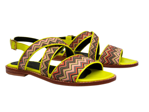 Lila Twist Strappy Sandals