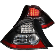 Load image into Gallery viewer, ANZO 2004-2005 Honda Civic LED Taillights Black
