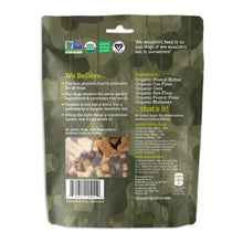 Load image into Gallery viewer, Riley's Peanut Butter and Molasses Organic Dog Treats (CAMO)
