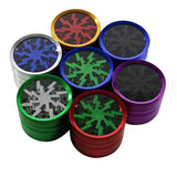 Clear Top anodized herb grinders - Free Gift! -